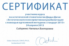Sidorenko-06 (2013)